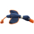 House of Paws Duck Canvas Thrower Dog Toy