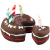 House of Paws Birthday Cake & Slice Dog Toy