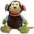 Rosewood Chubleez Mitchell Monkey Dog Toy