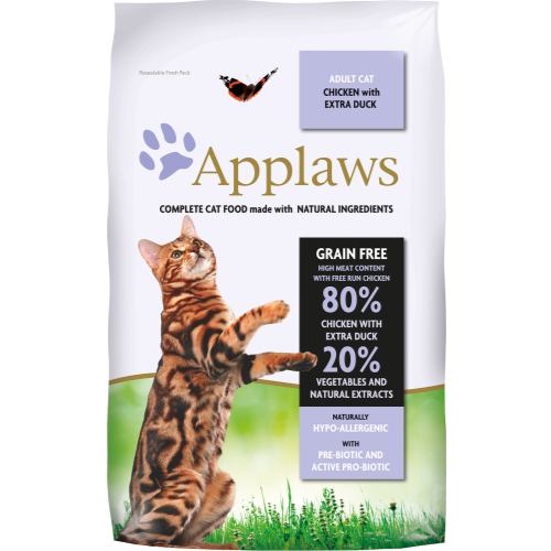 Applaws Chicken & Duck Adult Cat Food 7.5kg x 2