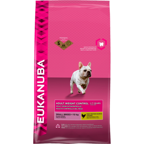 Eukanuba Weight Control Small Breed Adult Dog Food 3kg