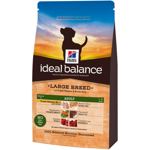 Hills Ideal Balance Canine Adult Large Breed Chicken & Rice