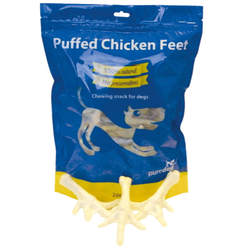 Pure Dog Puffed Chicken Feet
