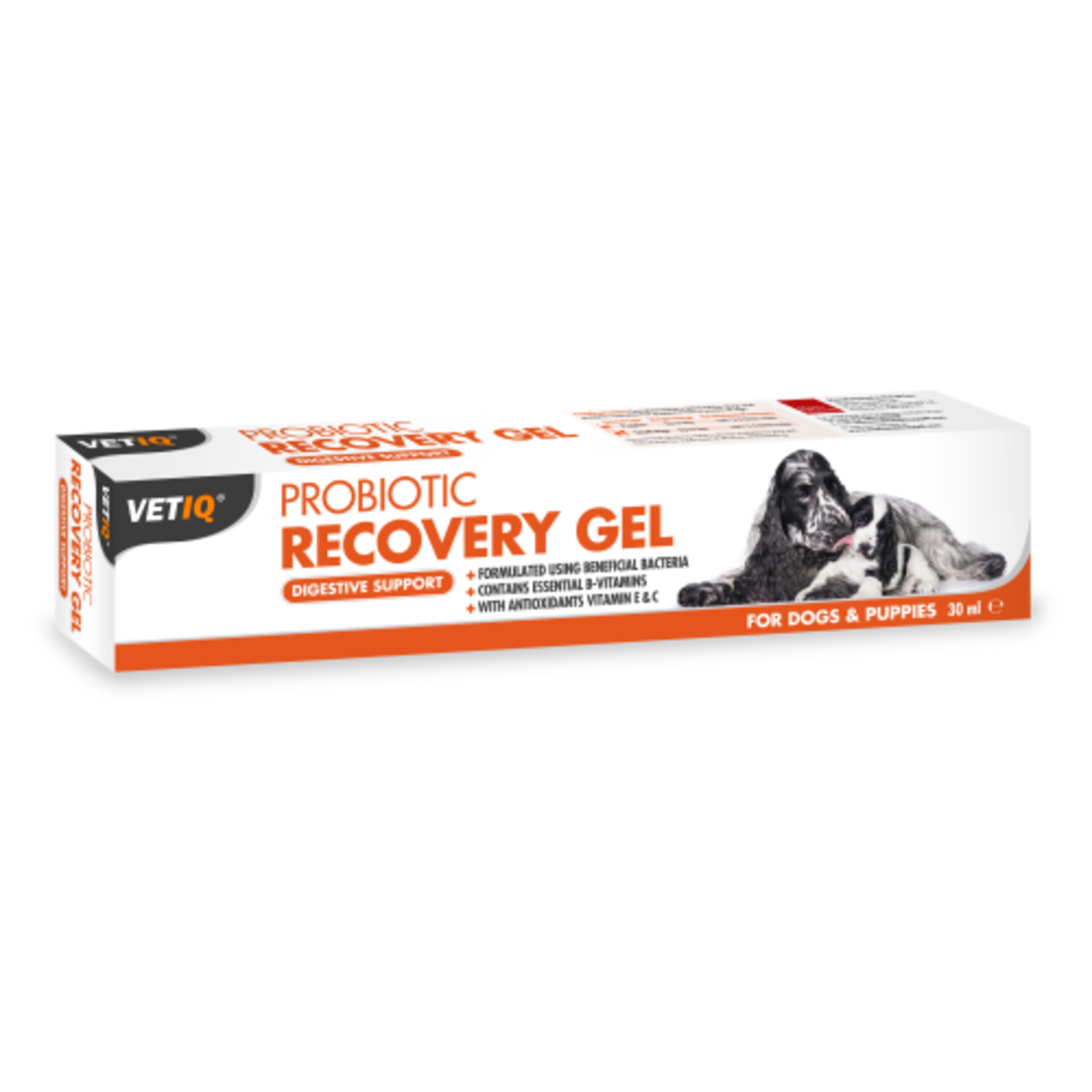 Mark & Chappell Vet IQ Probiotic Recovery Gel for Dogs