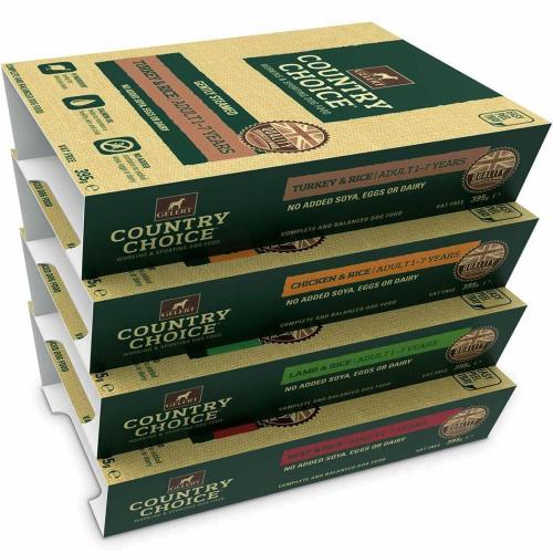 Gelert Country Choice Tray Varieties Wet Dog Food
