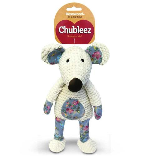 Rosewood Chubleez Maisie Mouse Dog Toy