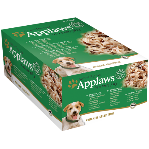 Applaws Chicken in Jelly Multipack Wet Can Adult Dog Food 156g x 32