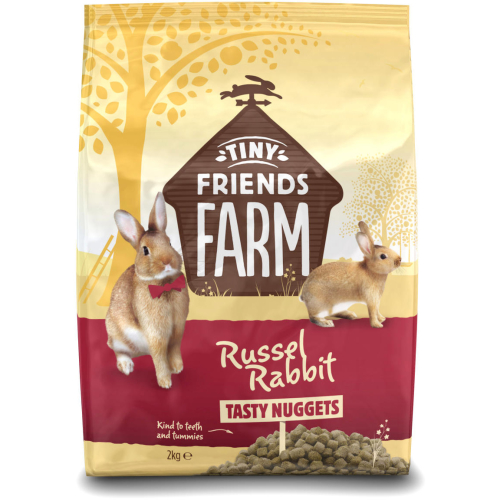 Russel Rabbit Tasty Nuggets Rabbit Food