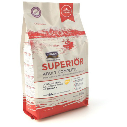 Fish4Dogs Superior Salmon Small Bite Complete Adult Dog Food 1.5kg