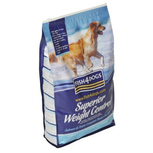 Fish4Dogs Superior Salmon Weight Control Small Bite Adult Dog Food