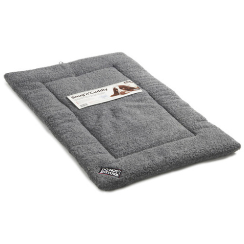 Sharples Pet Snug n Cuddly Sherpa Style Dog Mattress Large Grey