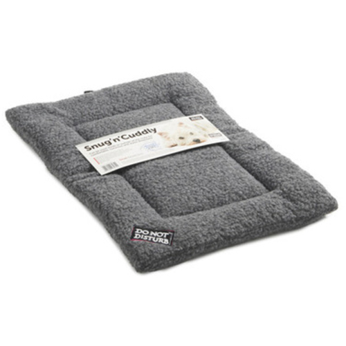 Sharples Pet Snug n Cuddly Sherpa Style Dog Mattress Small Grey