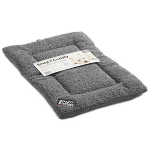 Sharples Pet Snug n Cuddly Sherpa Style Dog Mattress Small Grey
