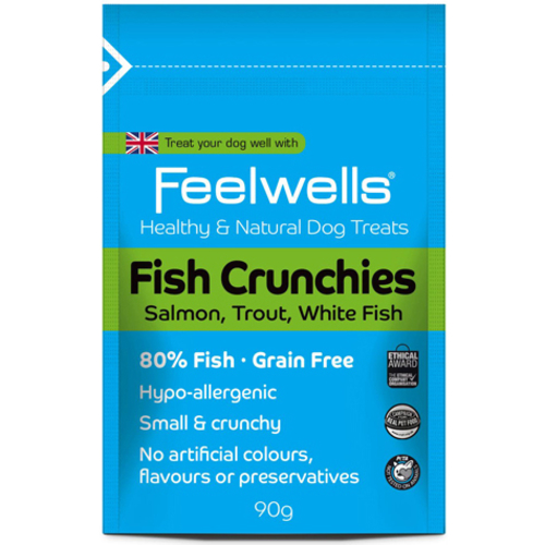 Feelwells Crunchies Fish Dog Treats