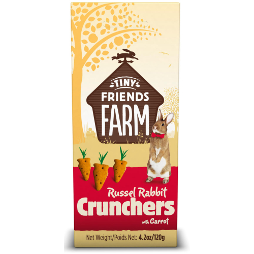 Supreme Russel Rabbit Carrot Crunchers Treats