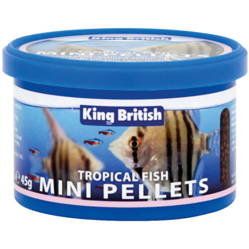 King British Tropical Fish Mini Pellet 45g