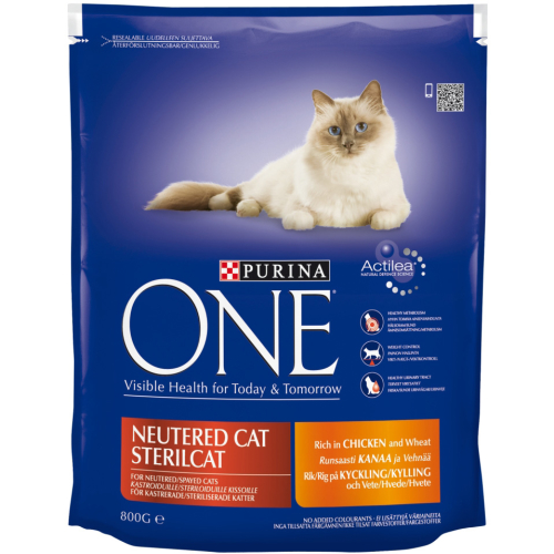Purina ONE Chicken Neutered Cat Adult Food
