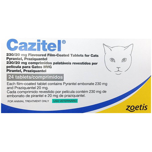 Cazitel Cat Worming Tablets
