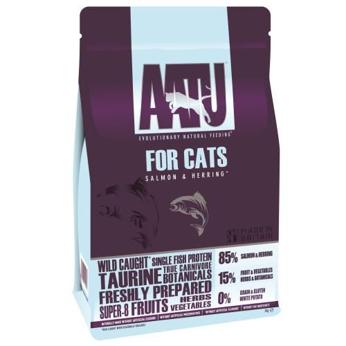 AATU 85/15 Salmon & Herring Adult Cat Food