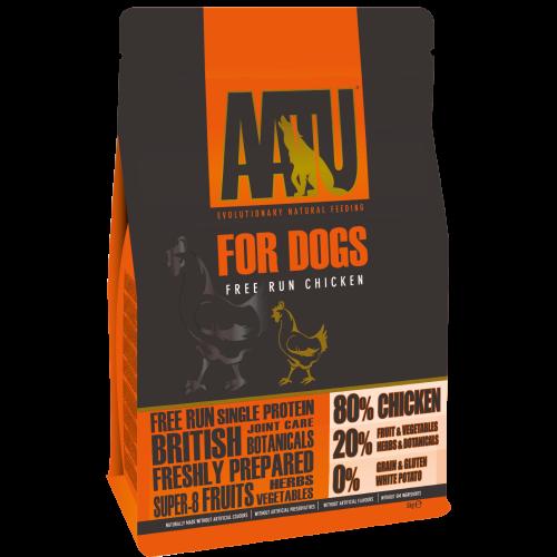 AATU 80/20 Chicken Adult Dog Food 5kg