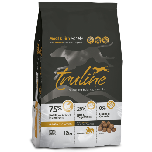 Truline Meat & Fish Adult Dry Dog Food 12kg x 2