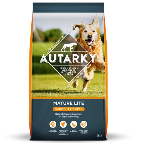 Autarky Chicken Dinner Mature Lite Dog Food