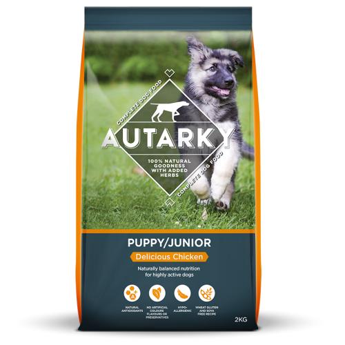 Autarky Chicken Junior Puppy Food