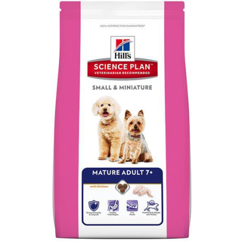 Hills Science Plan Canine Mature 7+ Small & Miniature Breed