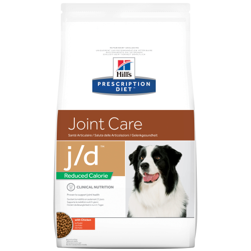 Hills Prescription Diet JD Reduced Calorie & Joint Care Chicken Dry Dog Food 4kg