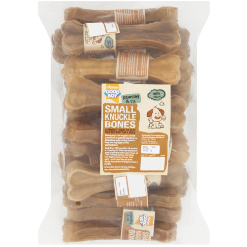 Good Boy Rawhide Small Knuckle Bone Dog Chews