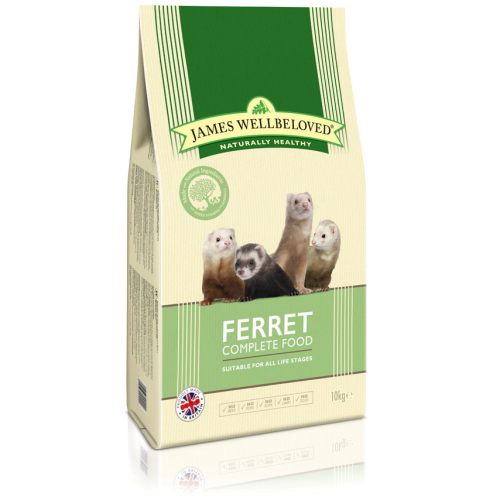 James Wellbeloved Ferret Complete Food 10kg