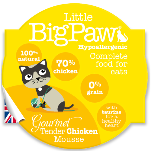 Little Big Paw Gourmet Tender Chicken Mousse Cat Food