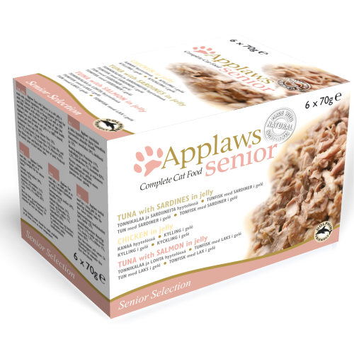 Applaws Senior Selection Multipack Can Senior Cat Food 70g x 48