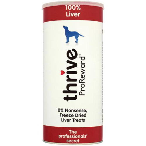 Thrive Pro Reward 100% Dog Treats 60g Liver
