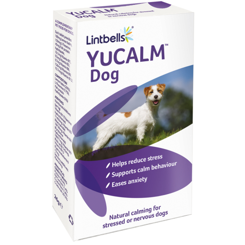 Lintbells Yucalm Dog Calming Supplement Tablets