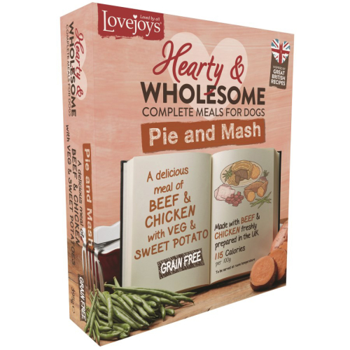 Lovejoys Hearty & Wholesome Pie & Mash Dog Food