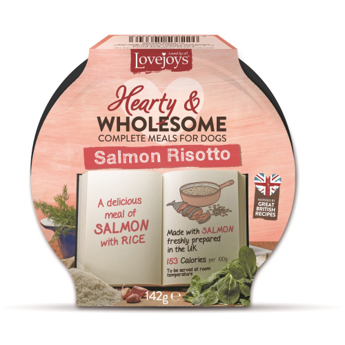Lovejoys Hearty & Wholesome Salmon Risotto Dog Food