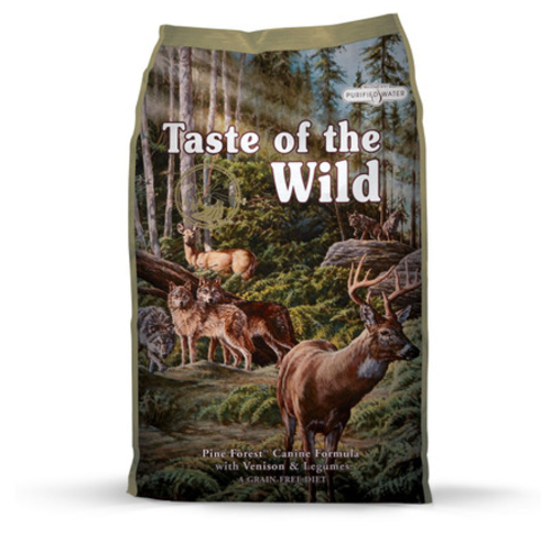 Taste Of The Wild Pine Forest Venison & Legumes Dog Food 13kg