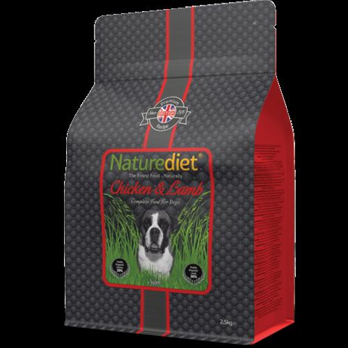 Naturediet Chicken & Lamb Dry Dog Food 2.5kg