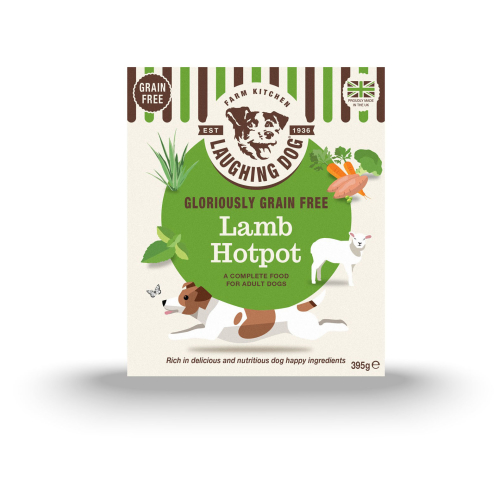 Laughing Dog Grain Free Lamb Hotpot Dog Food