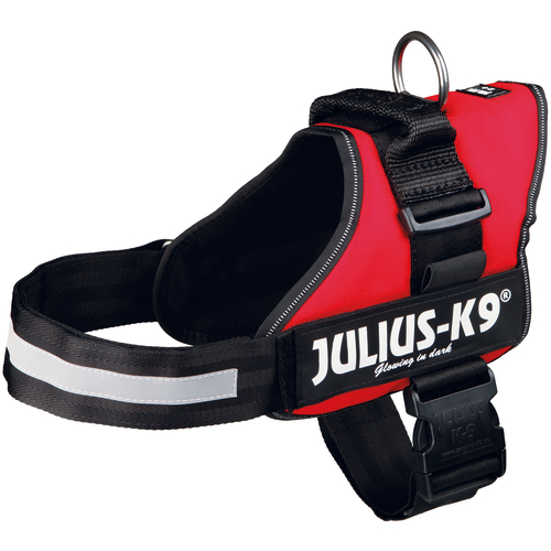Julius-K9 Powerharness Red Dog Harness Medium