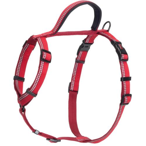Halti Reflective Walking Harness Red Medium