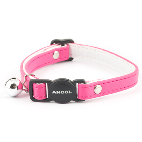 Ancol Jewelled Safety Cat Collar Cerise Pink