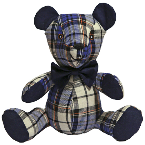 Rosewood Chubleez Blueberry Bear Dog Toy