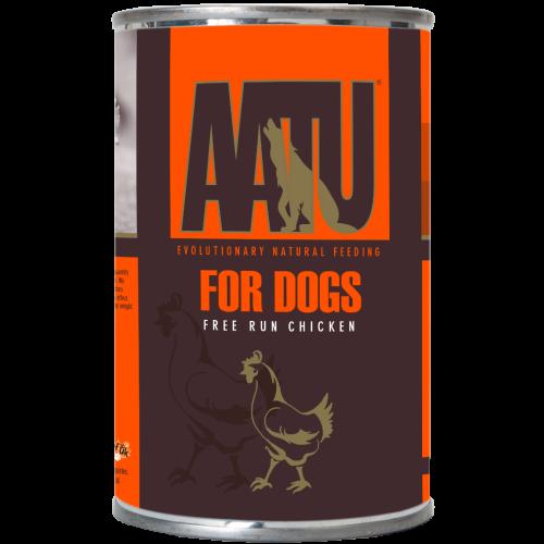 AATU Chicken Wet Dog Food 400g x 18