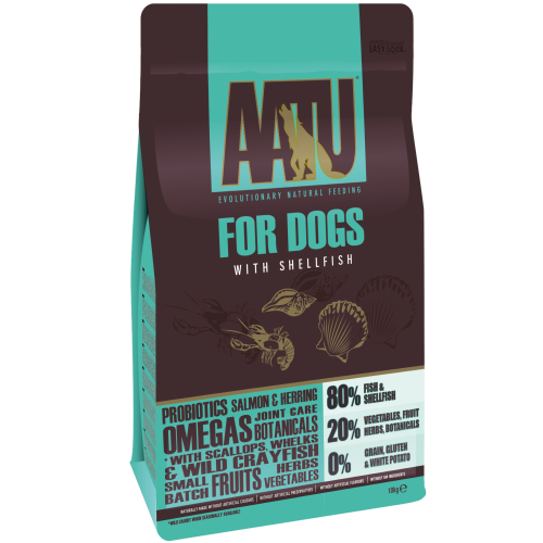 AATU 80/20 Fish & Shellfish Dog Food