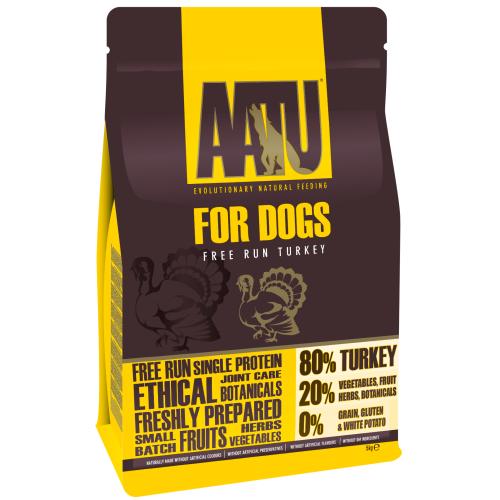 AATU 80/20 Turkey Adult Dog Food