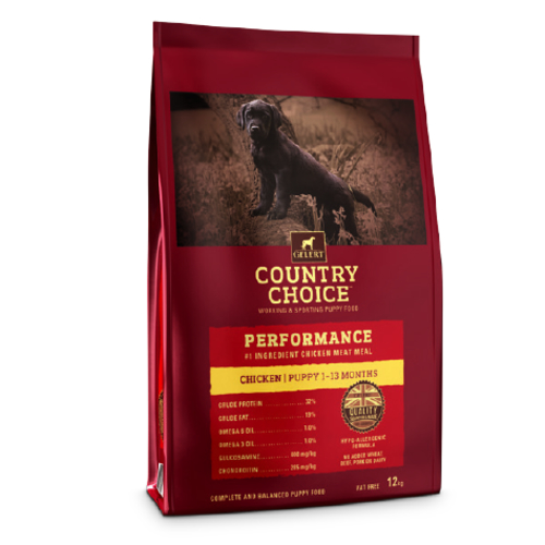 Gelert Country Choice Performance Puppy Food