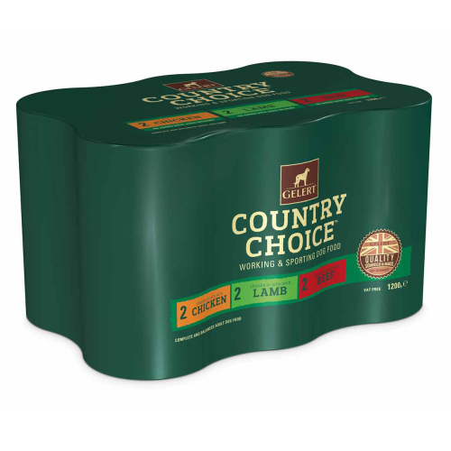 Gelert Country Choice Variety Dog Food