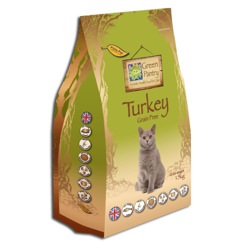Green Pantry Turkey Dry Cat Food